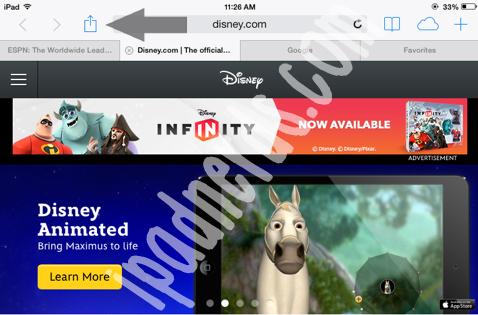 how to delete bookmarks in safari ipad