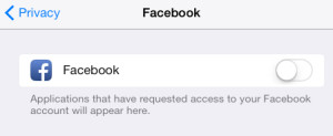 Facebook Erorr Signing In: Could not communicate with the server
