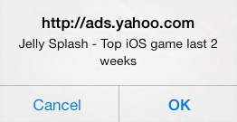 Jelly Splash Pop Up iOS